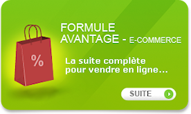 Formule site e-commerce avantage