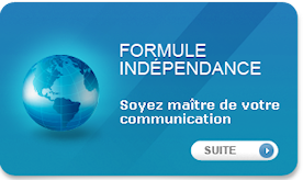 Formule sites internet independance